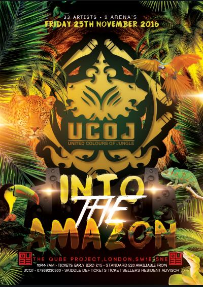 United Colours Of Jungle: Into the Amazon