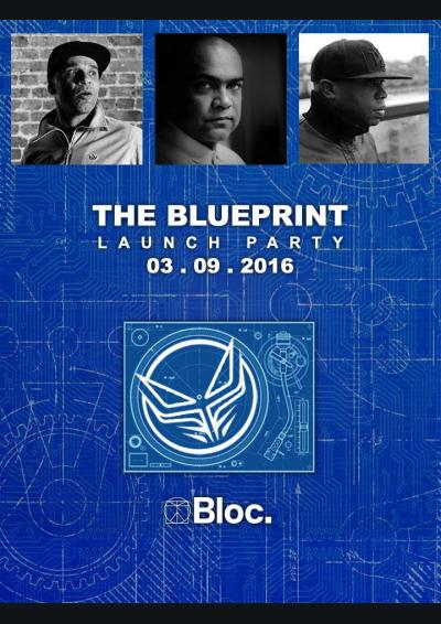 The Blueprint Launch Party With Goldie