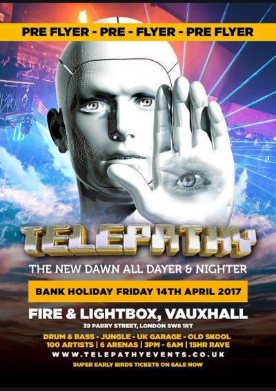Telepathy - The New Dawn All Dayer & Nighter