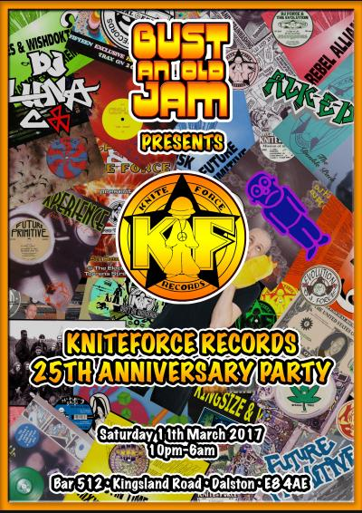 Bust An Old Jam - Kniteforce Records 25th Anniversary