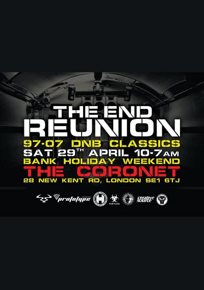 THE END REUNION *CANCELLED* - REFUNDS WILL BE MADE AUTOMATICALLY Poster