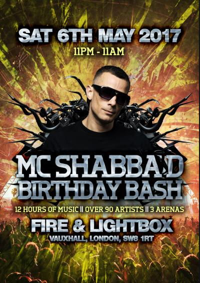MC Shabba D's Birthday Bash