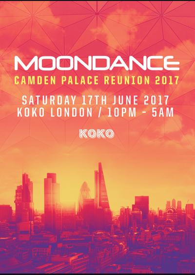 Moondance Camden Palace Reunion 2017