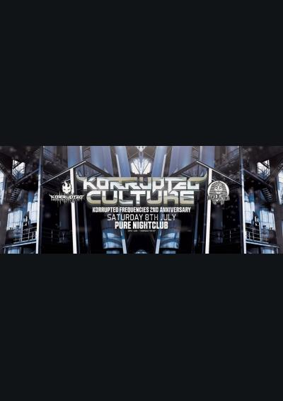 Dance Culture X Korrupted Frequencies : Korrupted Culture Poster