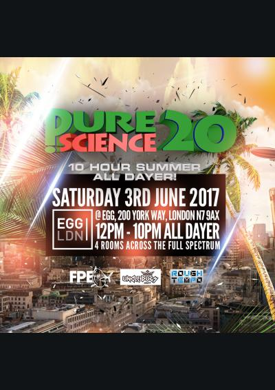 Pure Science 20 All Dayer !  Poster