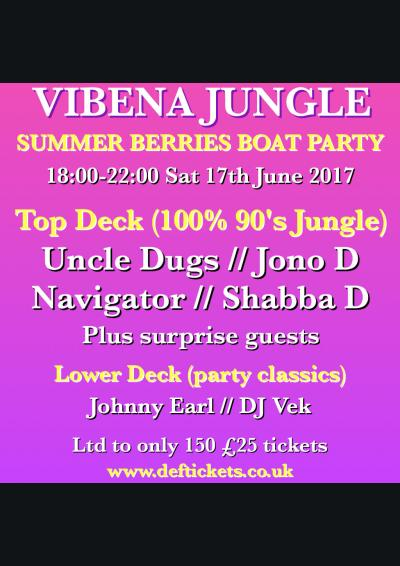 VIBENA JUNGLE SUMMER BERRIES BOAT PARTY