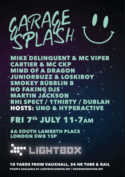 Garage Splash  Poster