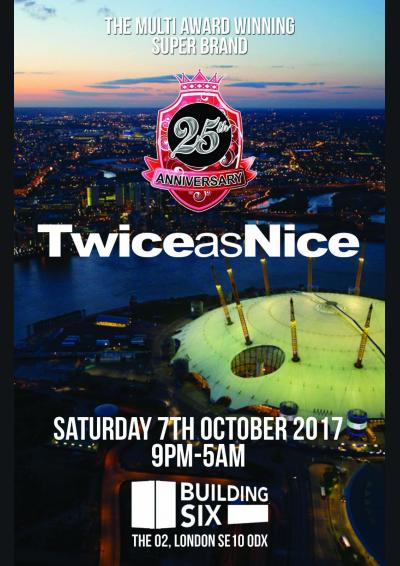 TwiceasNice 25th Anniversary Poster