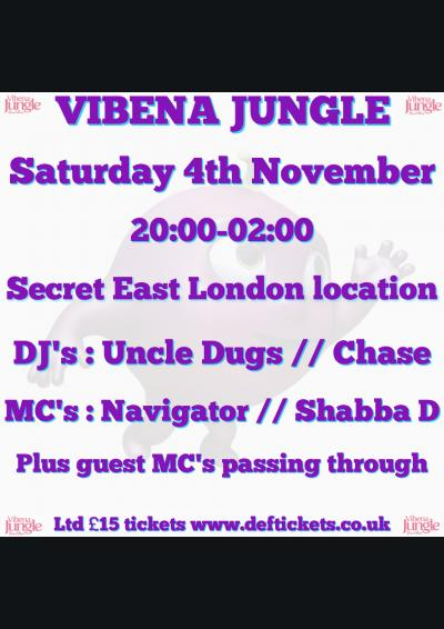 VIBENA JUNGLE Poster