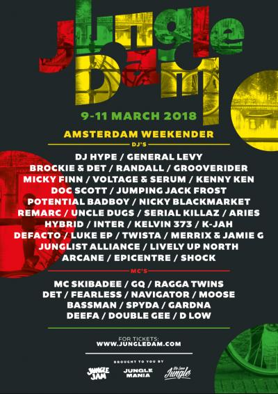 JUNGLE DAM WEEKENDER 2018