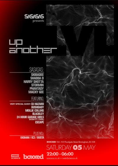 SASASAS presents Up Another Lvl : Birmingham Poster