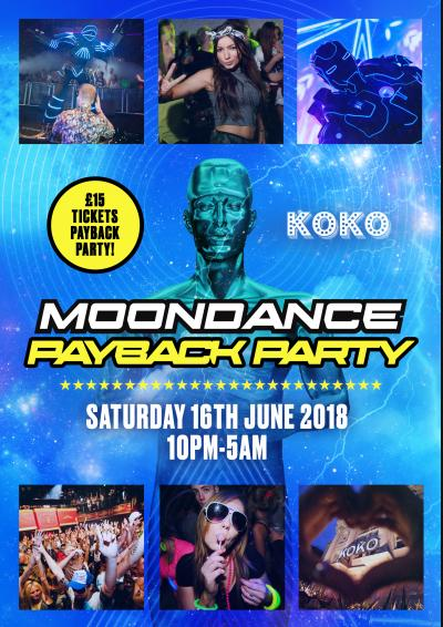 Moondance Payback Party