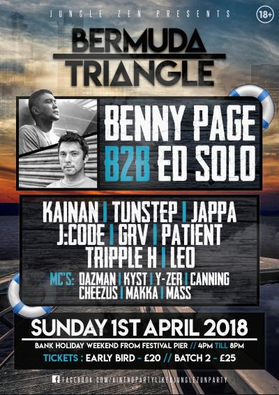 Jungle Zen Presents: Bermuda Triangle  Poster