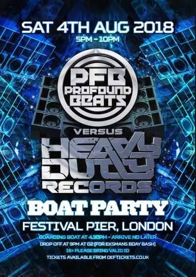 PROFOUND BEATS VS HEAVY DUTY BOAT PARTY