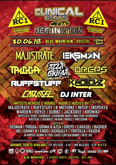 Clinical Beats Meets Def:Inition Poster