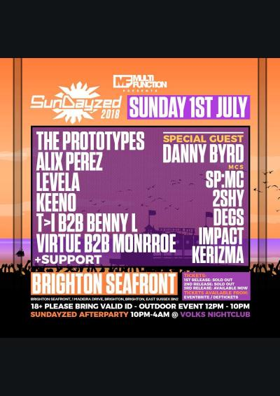 Multi Function presents: SunDayzed 2018