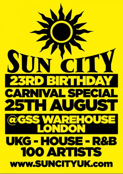 Sun City 23rd Birthday Poster