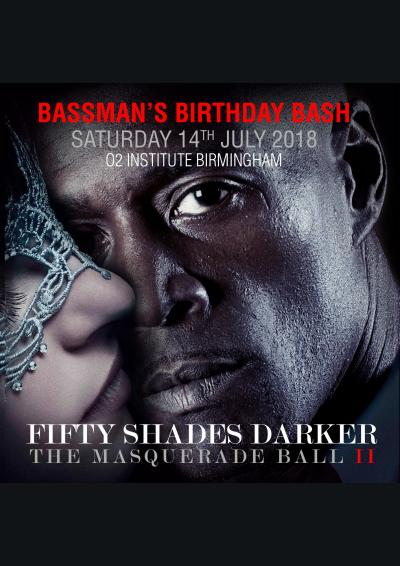 MC Bassman Birthday Bash 2018 Fifty Shades of Darker