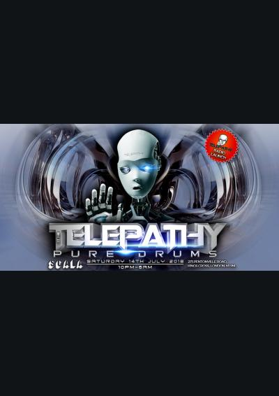 Telepathy, Pure Drums Poster