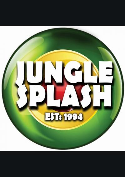Jungle Splash Free Party Poster