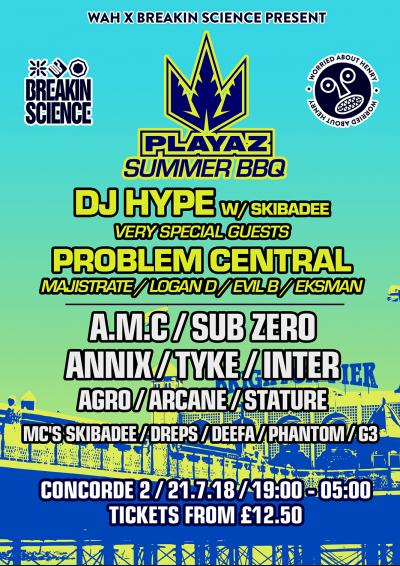 PLAYAZ SUMMER BBQ - BRIGHTON