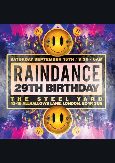 Raindance 29th Birthday