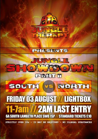 JUNGLE THERAPY presents the JUNGLE SHOWDOWN