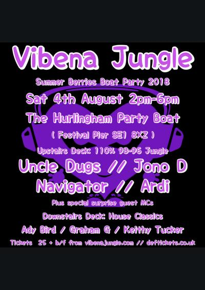 Vibena Jungle 'Summer Berries' Boat Party
