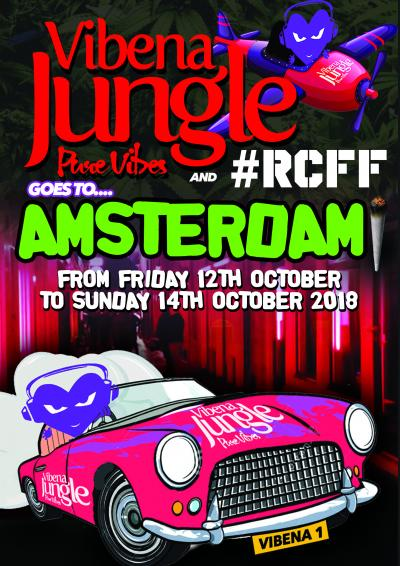 VIBENA JUNGLE AND #RCFF GOES TO AMSTERDAM WEEKENDER