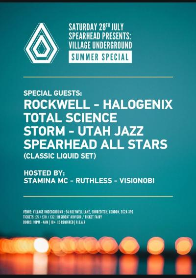 Spearhead Presents: Village Underground Summer Special