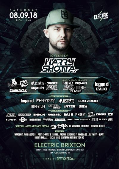 10 Years of Harry Shotta