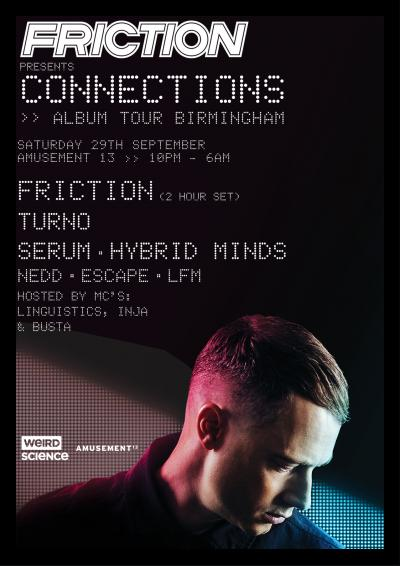Friction presents Connections : Birmingham