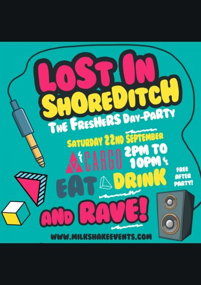 Lost In Shoreditch - Summer Closing Party