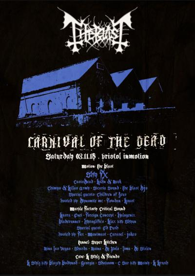 In:Motion / The Blast Presents Carnival of the Dead Poster