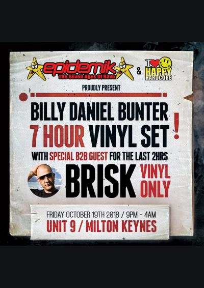 Billy Daniel Bunter 7 hour Vinyl set
