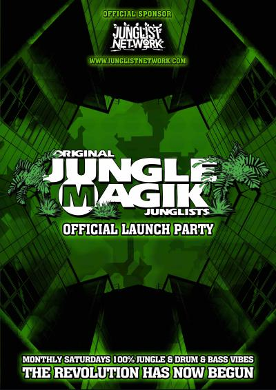 Jungle Magik - Official Launch Party