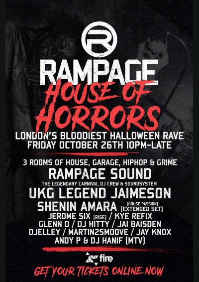 The Rampage Sound - House of Horrors