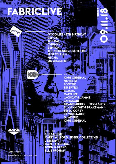 FABRICLIVE: Good Life, King Original & She Said So Poster