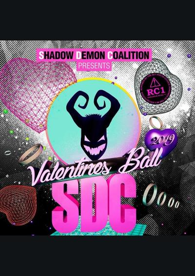 SHADOW DEMON COALITION pres THE ANNUAL VALENTINES BALL 2019