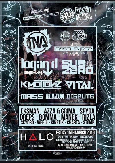 NU ELEMENTZ BIRTHDAY BASH 2019 - BACK TO BASS:ICS & TNA
