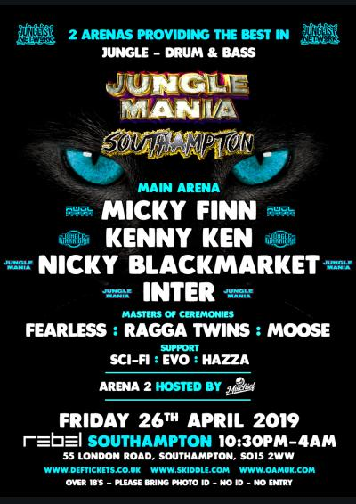 JUNGLE MANIA SOUTHAMPTON