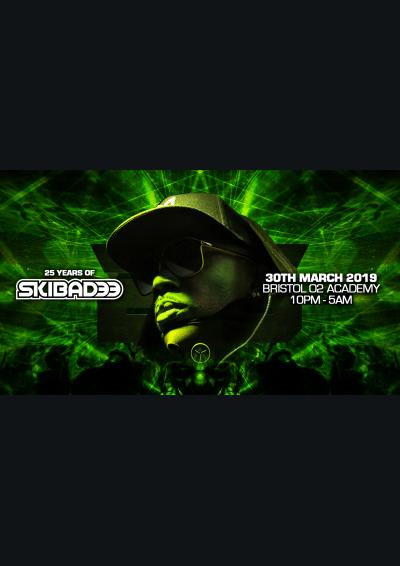 25 Years of Skibadee O2 BRISTOL Poster