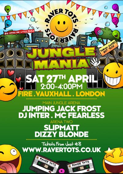 Raver Tots x Jungle Mania