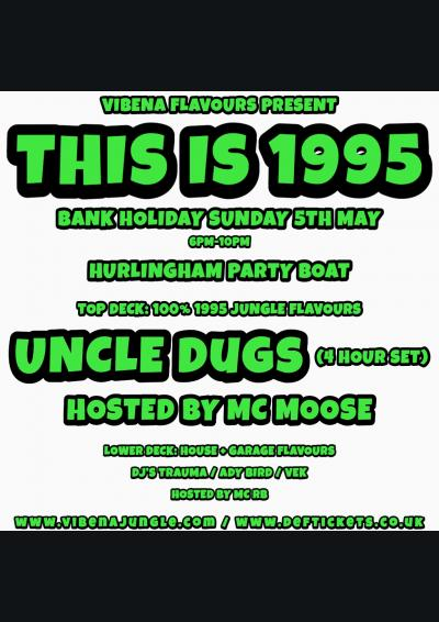 Vibena Flavours present 'THIS IS 1995' Poster