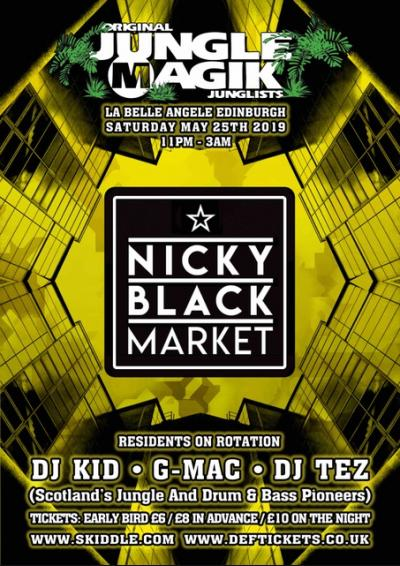Jungle Magik - Nicky Blackmarket