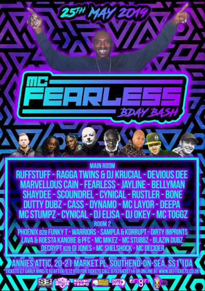 MC FEARLESS BIRTHDAY BASH