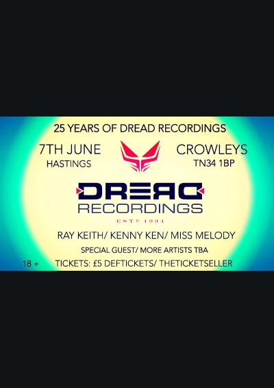 25 YEARS OF DREAD RECORDINGS