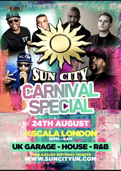 Sun City Carnival Special  Poster