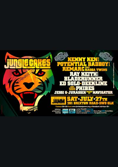 Jungle Cakes: Jungle Warriors, Ray Keith b2b Bladerunner, Ed Solo, Deekline