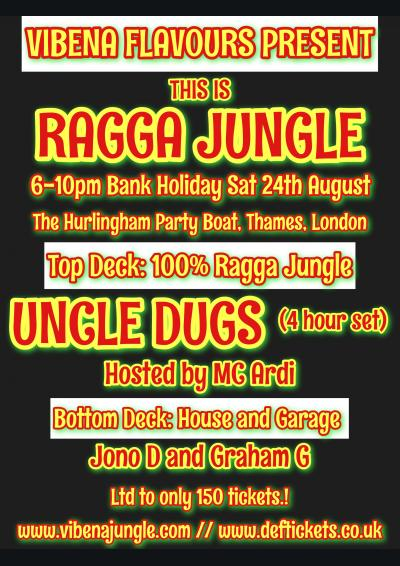 Vibena Flavours present THIS IS RAGGA JUNGLE Poster
